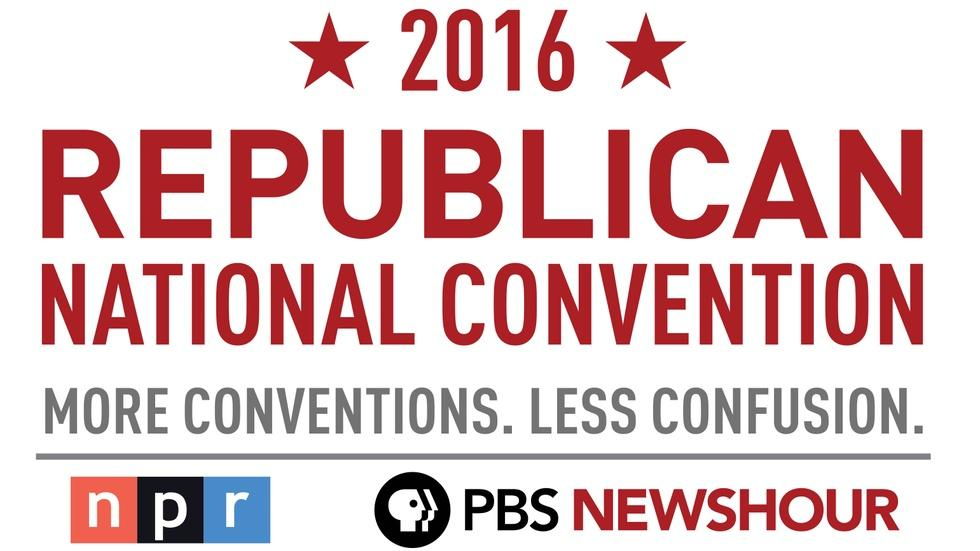 PBS NewsHour/NPR RNC Special - Day 2 image