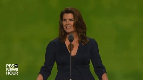 PBS NewsHour -- Kimberlin Brown at the 2016 Republican National Convention