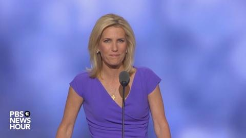 PBS NewsHour -- Watch radio host Laura Ingraham's full speech at 2016 RNC