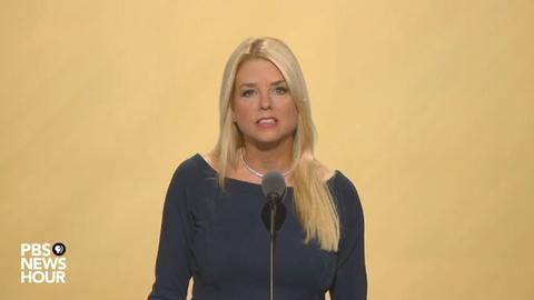 PBS NewsHour -- Watch Florida Attorney General Pam Bondi speak at 2016 RNC