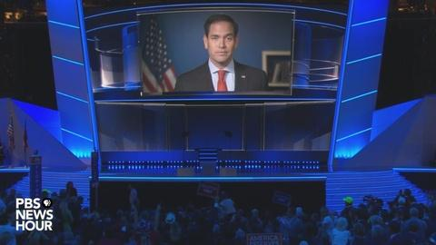 PBS NewsHour -- Watch Marco Rubio's full speech at the 2016 RNC