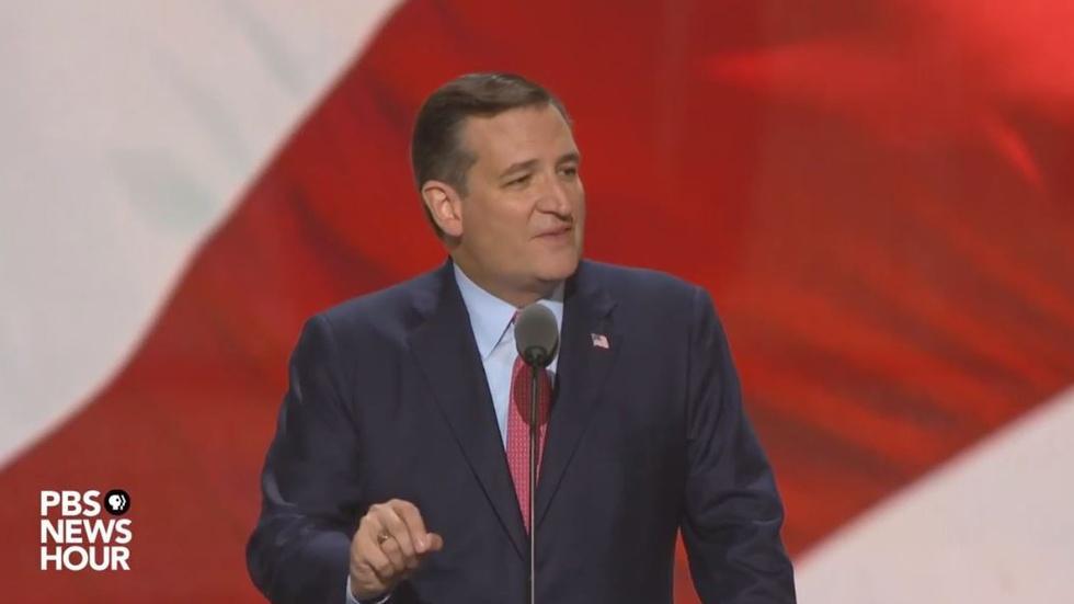 Watch Sen. Ted Cruz's full speech at RNC image