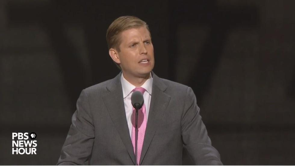 Watch Eric Trump's full speech at the 2016 RNC image