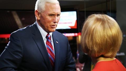 PBS NewsHour -- Pence talks Turkey, abortion, Trumpoinics and trade