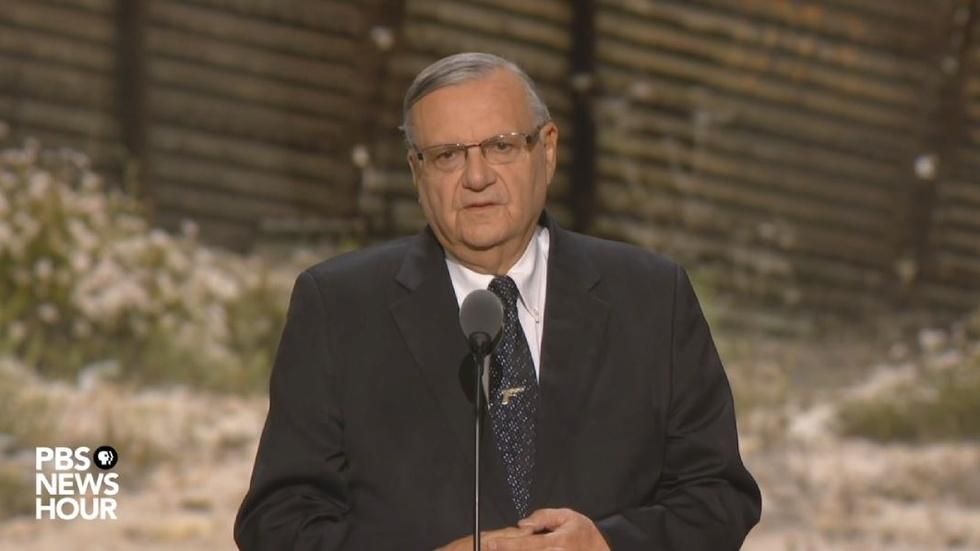 Watch Sheriff Joe Arpaio's full speech at the RNC image