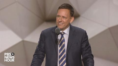 PBS NewsHour -- Watch Peter Thiel's full speech at the 2016 RNC