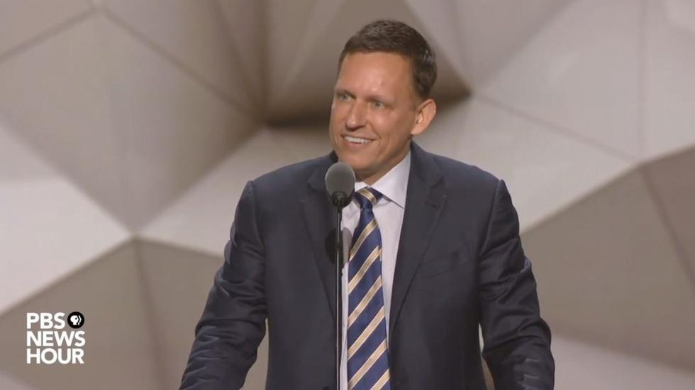 Watch Peter Thiel's full speech at the 2016 RNC image