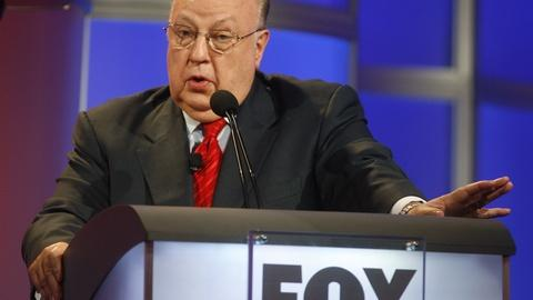 PBS NewsHour -- Long rise and very quick fall of Fox News boss Roger Ailes