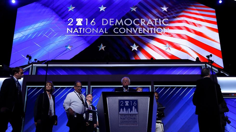 Calls for unity compete with cries of foul at DNC image