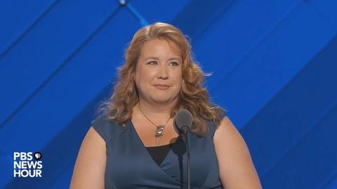 PBS NewsHour -- Maine state Rep. Diane Russell's full speech at the 2016 DNC