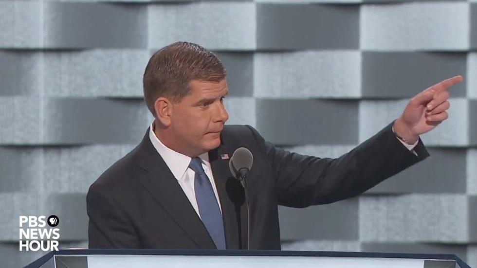 Watch Boston Mayor Marty Walsh's full speech at the 2016 DNC image
