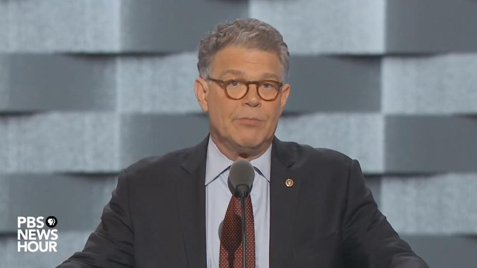 Watch Sen. Al Franken's full speech at the 2016 DNC image