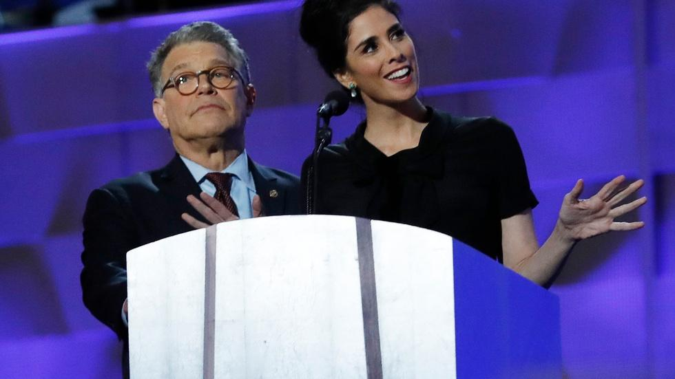 Watch comedian Sarah Silverman's full speech at the 2016 DNC image