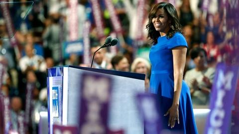PBS NewsHour -- First lady Michelle Obama's full speech at the 2016 DNC