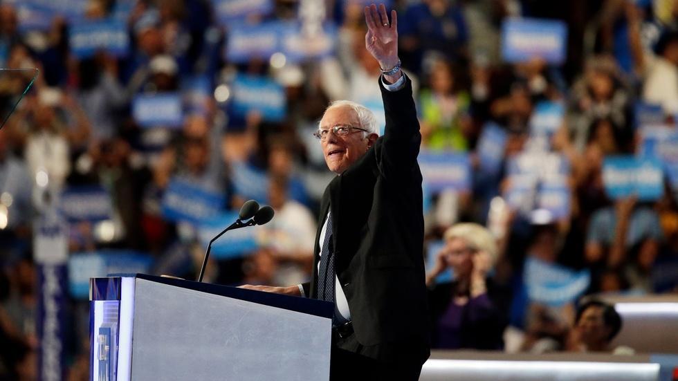Watch Sen. Bernie Sanders' full speech at the 2016 DNC image