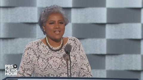 PBS NewsHour -- DNC vice chair Donna Brazile's full speech at the 2016 DNC