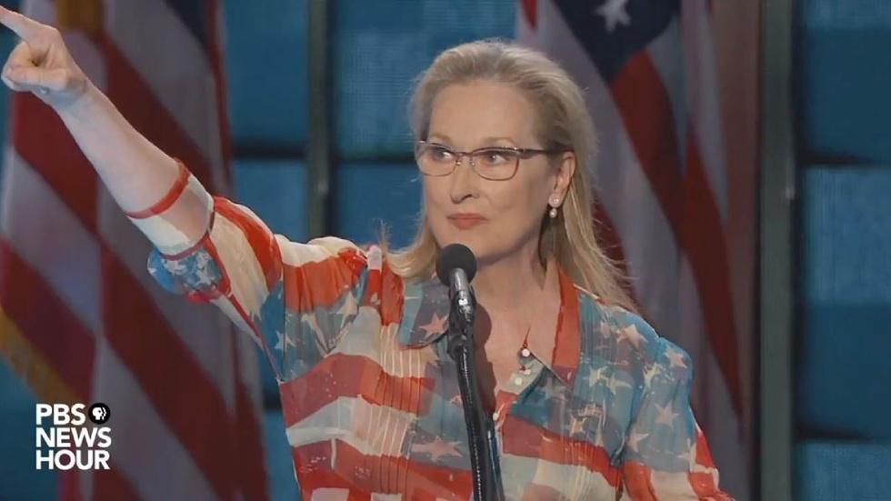 Watch Meryl Streep's full speech at the 2016 DNC image