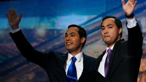 PBS NewsHour -- Castro brothers on how Trump has motivated U.S. Latinos