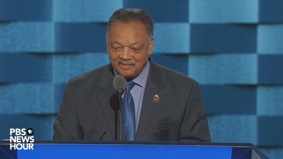 Watch the Rev. Jesse Jackson's full speech at the 2016 DNC image