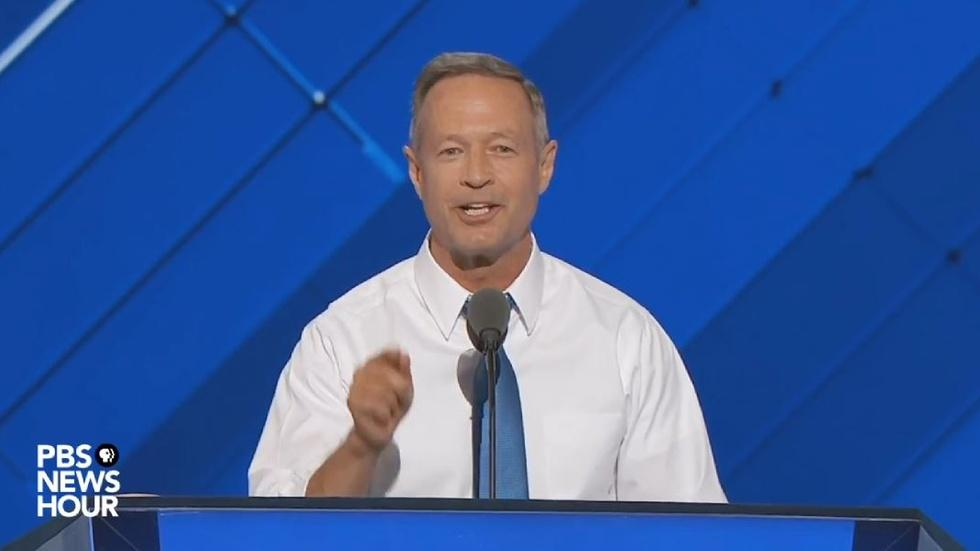 Watch Gov. Martin O'Malley's full speech at the 2016 DNC image