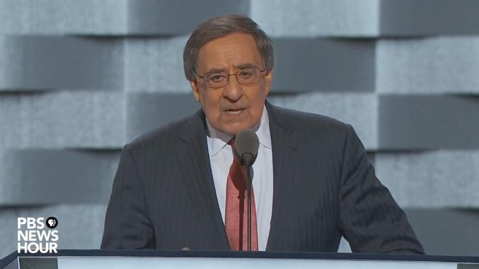 Ex-CIA chief Leon Panetta speaks at 2016 DNC image