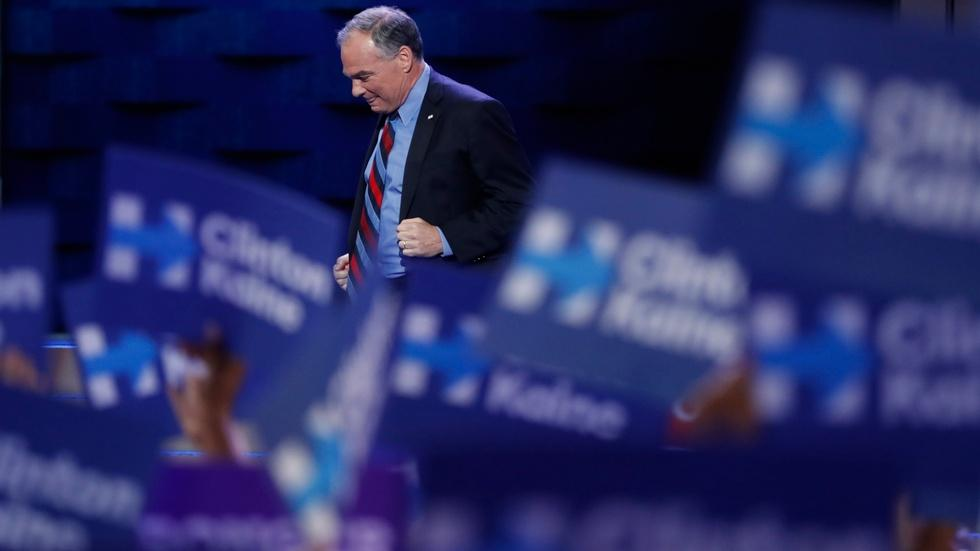 Watch VP nominee Tim Kaine's full speech at the 2016 DNC image