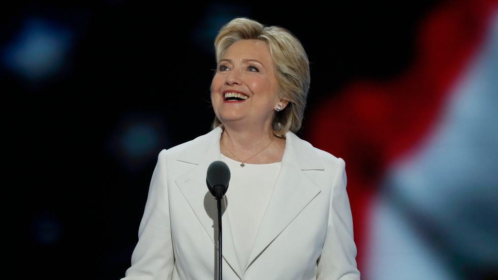 Watch Hillary Clinton's full speech at the 2016 DNC image