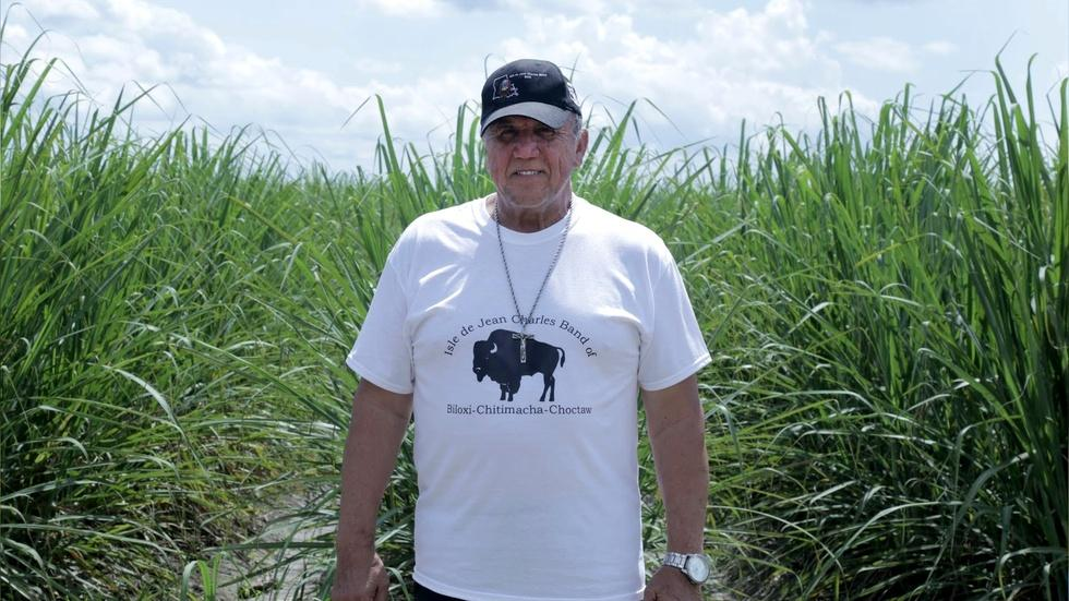 Native community in Louisiana relocates as land washes away image