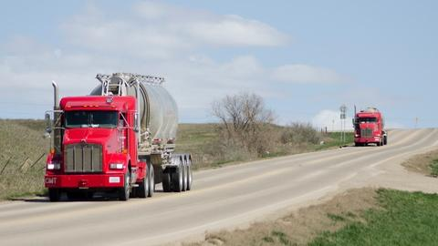 PBS NewsHour -- A stretch of North Dakota highway watches oil boom and bust