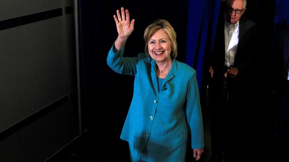Clinton's comments on classified emails are inconsistent image