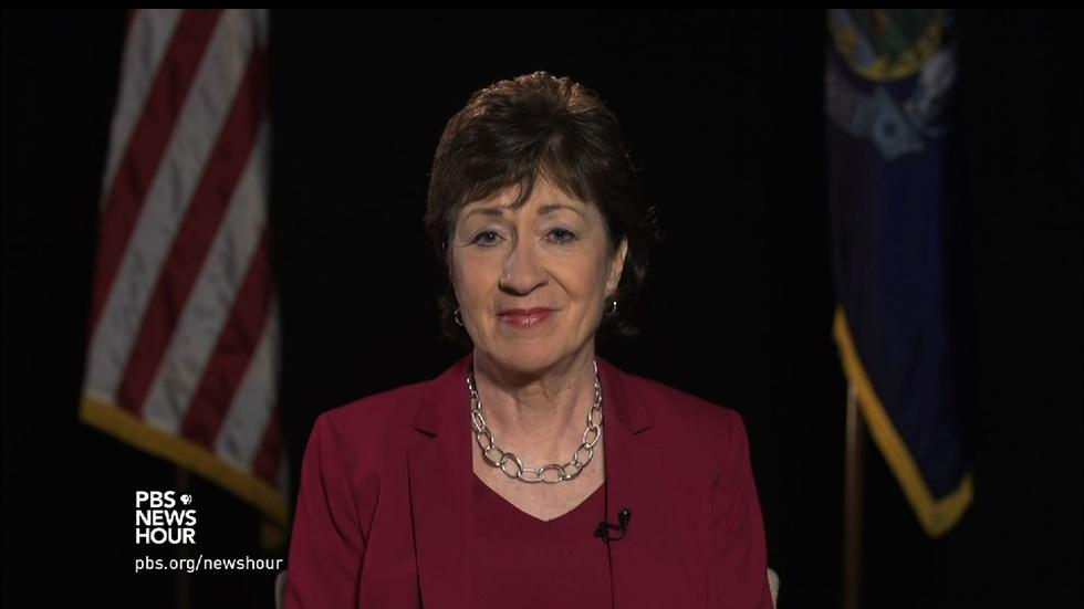 Why Republican Sen. Susan Collins won't be voting for Trump image