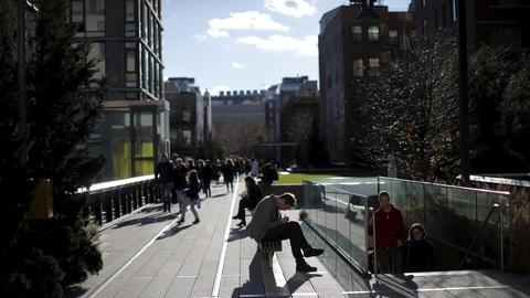 PBS NewsHour -- Above Manhattan's bustle, a reshaped public space