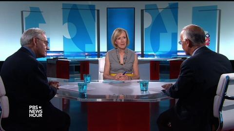 PBS NewsHour -- Brooks and Dionne on the GOP dilemma and 'common decency'