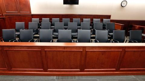 PBS NewsHour -- Why jury trials are becoming less common