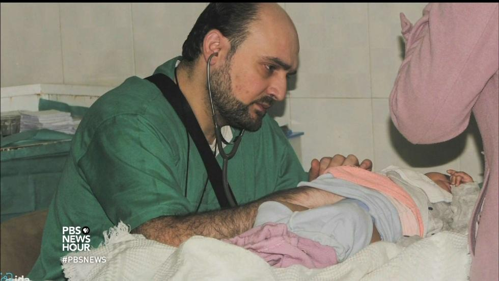 Targeted by airstrikes, Syrian doctors feel abandoned image