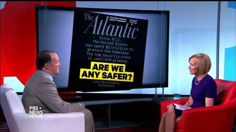 PBS NewsHour -- 15 years after 9/11, security is stronger -- as are threats