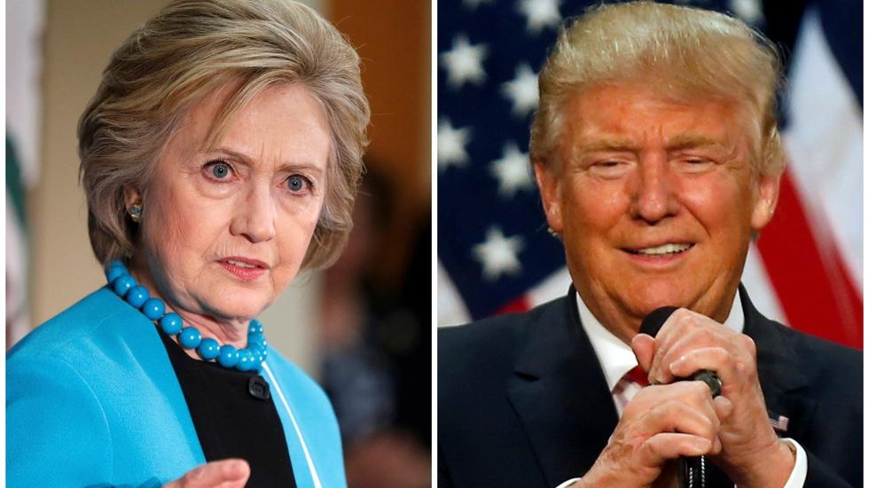 Hillary Clinton's and Donald Trump's approaches to ISIS image