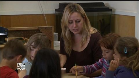 PBS NewsHour -- Why do early childhood educators struggle to make ends meet?