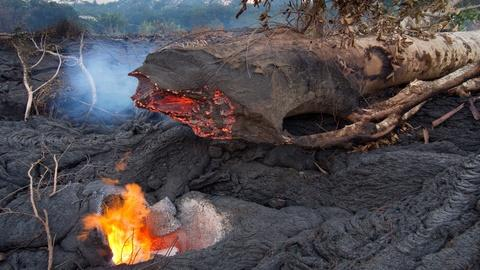 PBS NewsHour -- On the longest-flowing volcano, searching for future clues