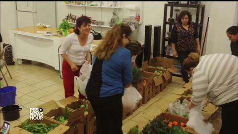 PBS NewsHour -- Wall Street millionaire shares healthy food with the needy