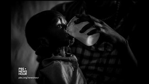 PBS NewsHour -- A portrait of turmoil in South Sudan, from behind the lens