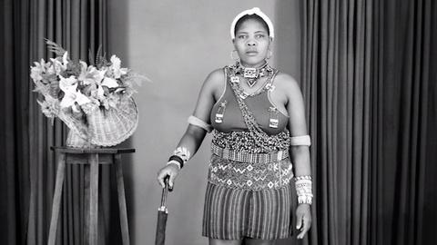 PBS NewsHour -- Black-and-white portraits from apartheid-era South Africa