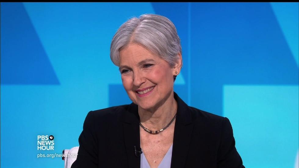 Jill Stein on political corruption in Washington image