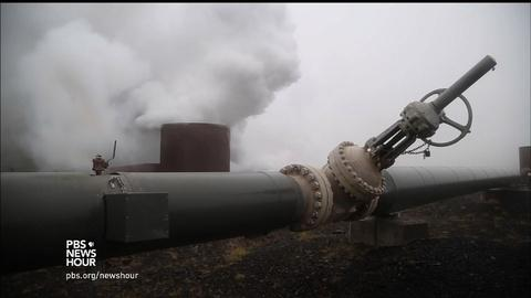 PBS NewsHour -- These scientists are turning harmful excess CO2 into rock