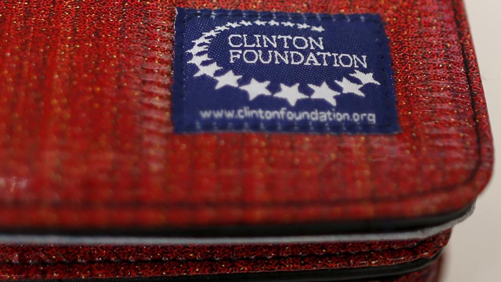 A glimpse inside operations at the Clinton Foundation image