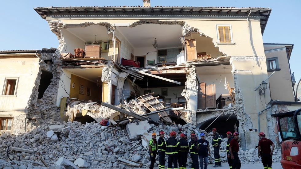 Italy marks national day of mourning after quake image