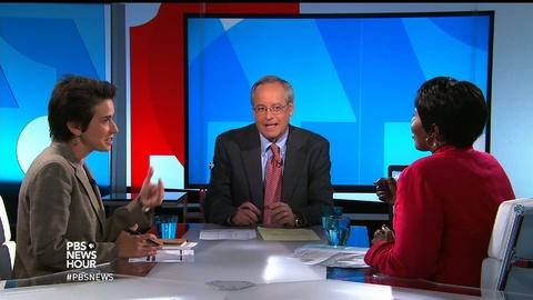 PBS NewsHour -- Clinton & Trump are talking about minorities -- but to whom?