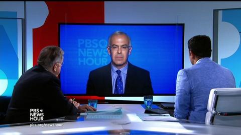 PBS NewsHour -- Shields and Brooks on immigration and if Clinton can lay low