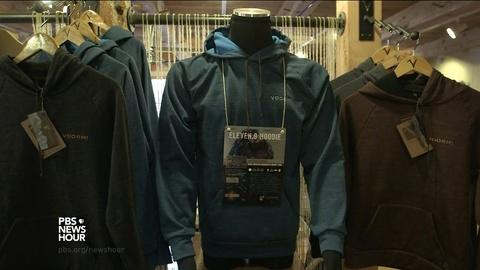 PBS NewsHour -- A clothing company that's keeping jobs in America