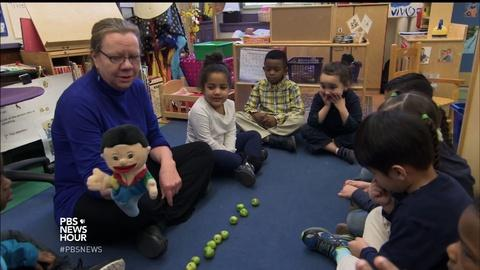 PBS NewsHour -- Counting the benefits of teaching math to 3-year-olds